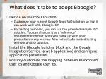 what does it take to adopt bboogle