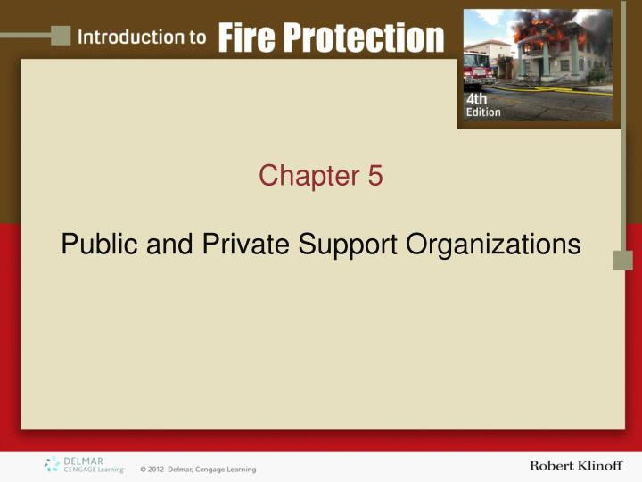 chapter 5 public and private support organizations n.