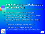 gpra government performance and results act