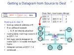 getting a datagram from source to dest2
