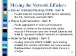 making the network efficient2