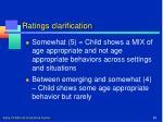 ratings clarification1