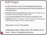 ecaf project