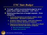 unc state budget
