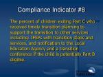 compliance indicator 8