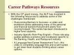 career pathways resources