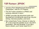 vip partner jpndc