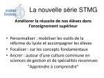 la nouvelle s rie stmg6