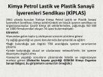 kimya petrol lastik ve plastik sanayii verenleri sendikas k plas