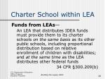 charter school within lea