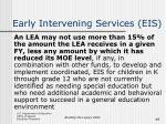 early intervening services eis