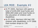 lea moe example 2