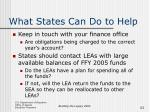 what states can do to help