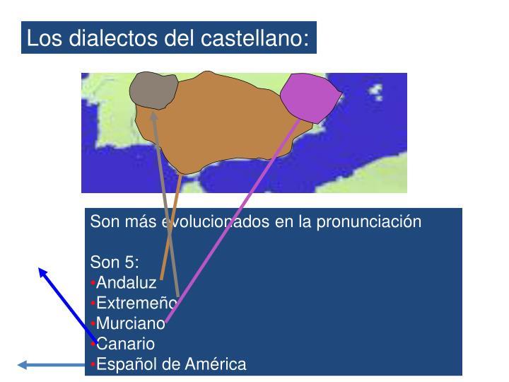 Los dialectos del castellano: