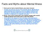 facts and myths about mental illness3