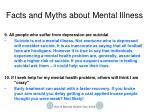 facts and myths about mental illness4