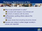 religious significance of sex