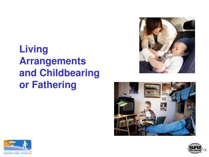 Living Arrangements and Childbearing or Fathering