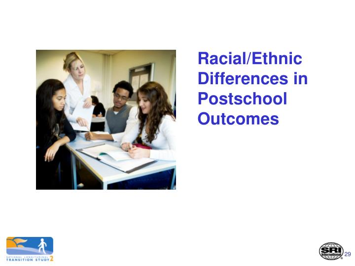 Racial/Ethnic Differences in Postschool Outcomes
