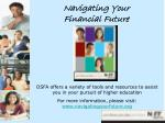 navigating your financial future