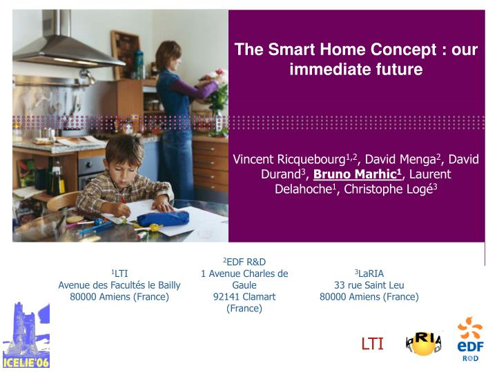 the smart home concept our immediate future n.