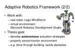adaptive robotics framework 2 2