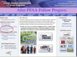 after ffaa follow progress