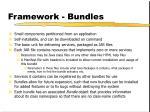 framework bundles