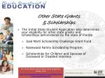 other state grants scholarships