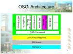 osgi architecture