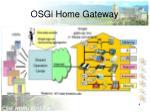 osgi home gateway