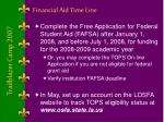 financial aid time line1