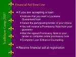 financial aid time line4