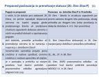 prepoved poslovanja in prenehanje statusa 20 len zsocp 1