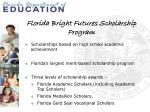 florida bright futures scholarship program
