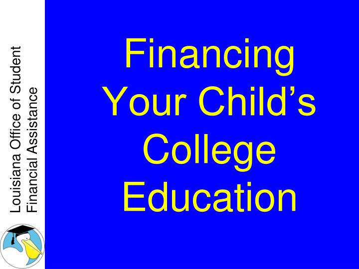 financing your child s college education n.