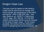 oregon case law2