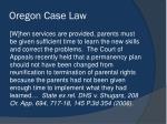 oregon case law5