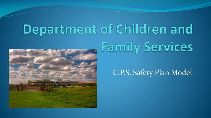 department of children and family services n.