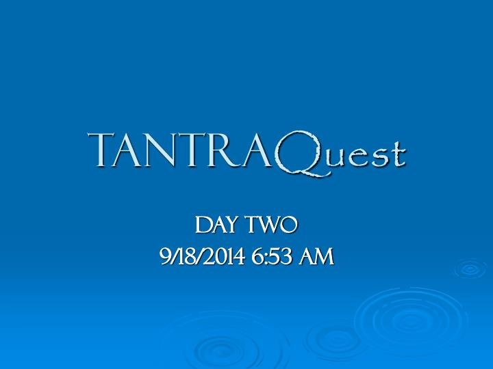 tantra quest n.