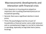 macroeconomic developments and interaction with financial crisis2
