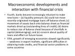 macroeconomic developments and interaction with financial crisis3