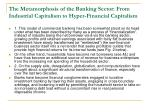 the metamorphosis of the banking sector from industrial capitalism to hyper financial capitalism2