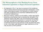 the metamorphosis of the banking sector from industrial capitalism to hyper financial capitalism3