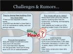 challenges rumors1
