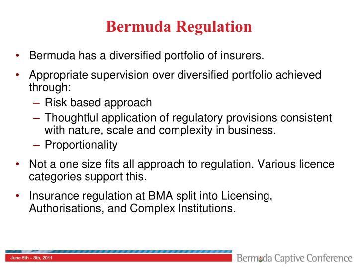 Bermuda Regulation