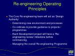 re engineering operating principles