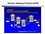exterior gateway protocol egp2