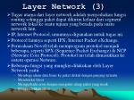 layer network 3