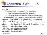 application layer l5